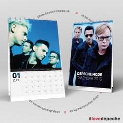 Stolový kalendár Depeche Mode 2016 (A5)