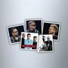 """Depeche Mode Mangnets with """"Spirit"""" motive"""