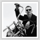 """Depeche Mode Mangnet with """"Spirit"""" motive"""