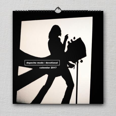 """Wall calendar Depeche Mode 2017 """"Devotional"""""""