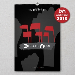 "Wall Calendar Depeche Mode ""Spirit"" 2018 (A3)"