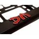 Vehicle registration plate holder Depeche Mode