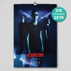 """Wall Calendar Depeche Mode """"Spirit"""" 2019"""