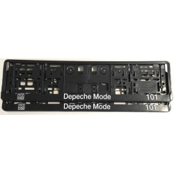 Vehicle registration plate holder Depeche Mode 101