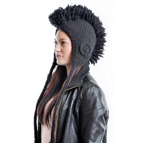 """Mohawk hat Čiapka Depeche Mode """"Black"""""""
