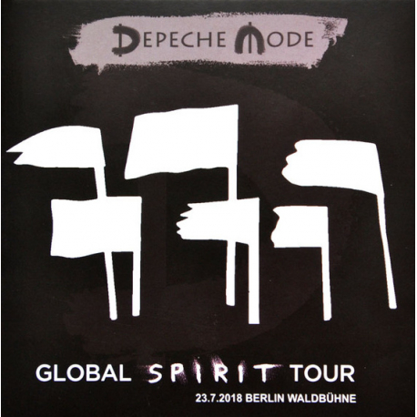 "Depeche Mode ""Global Spirit Tour"" Live (CD) Berlin Waldbühne 23/07/2018"