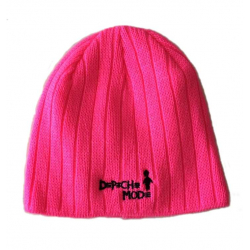 Winter Hat Playing the Angel Depeche Mode (pink)
