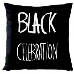 "Pillow ""Black Celebration"" Depeche Mode"