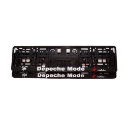Vehicle registration plate holder Depeche Mode Violator