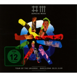 Depeche Mode  Tour of the Universe: Live In Barcelona (1DVD/2CD)