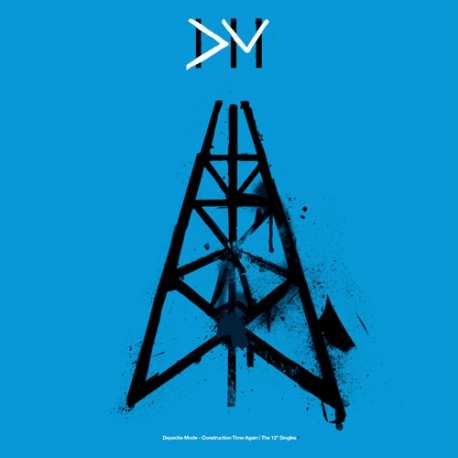 "Depeche Mode ""Construction Time Again"" Singles Vinyl (Box set)"