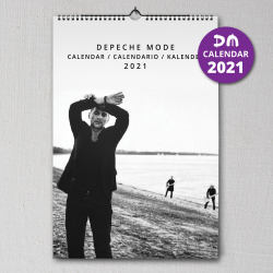 Nástenný kalendár Depeche Mode 2021