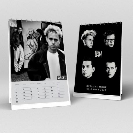 Stolový kalendár Depeche Mode 2021 (A5)