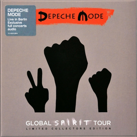 "Depeche Mode ""Global Spirit Tour"" Live CD Box Set"