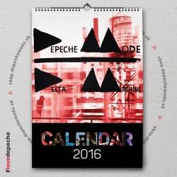 Nástenný kalendár Depeche Mode 2016 (A3) - DM ALBUMY