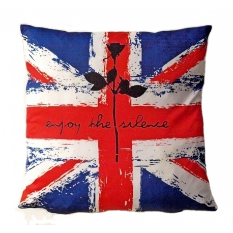 """Pillow Rose """"England"""" Depeche Mode"""