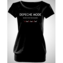 """Depeche Mode Women's T-Shirt """"Music For The Masses"""""""