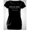 "Dámske Tričko Depeche Mode ""Music For The Masses"""