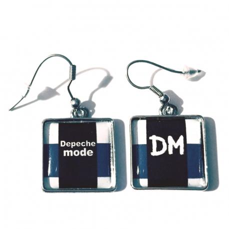 "Náušnice Depeche Mode ""Personal Jesus"""