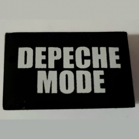 Badge Depeche Mode (Inscription)