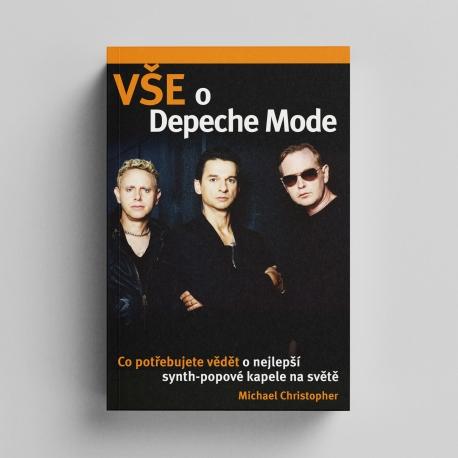 "Kniha Depeche Mode ""Vše o Depeche Mode"""
