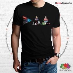 Tričko Depeche Mode - DM ALBUMY