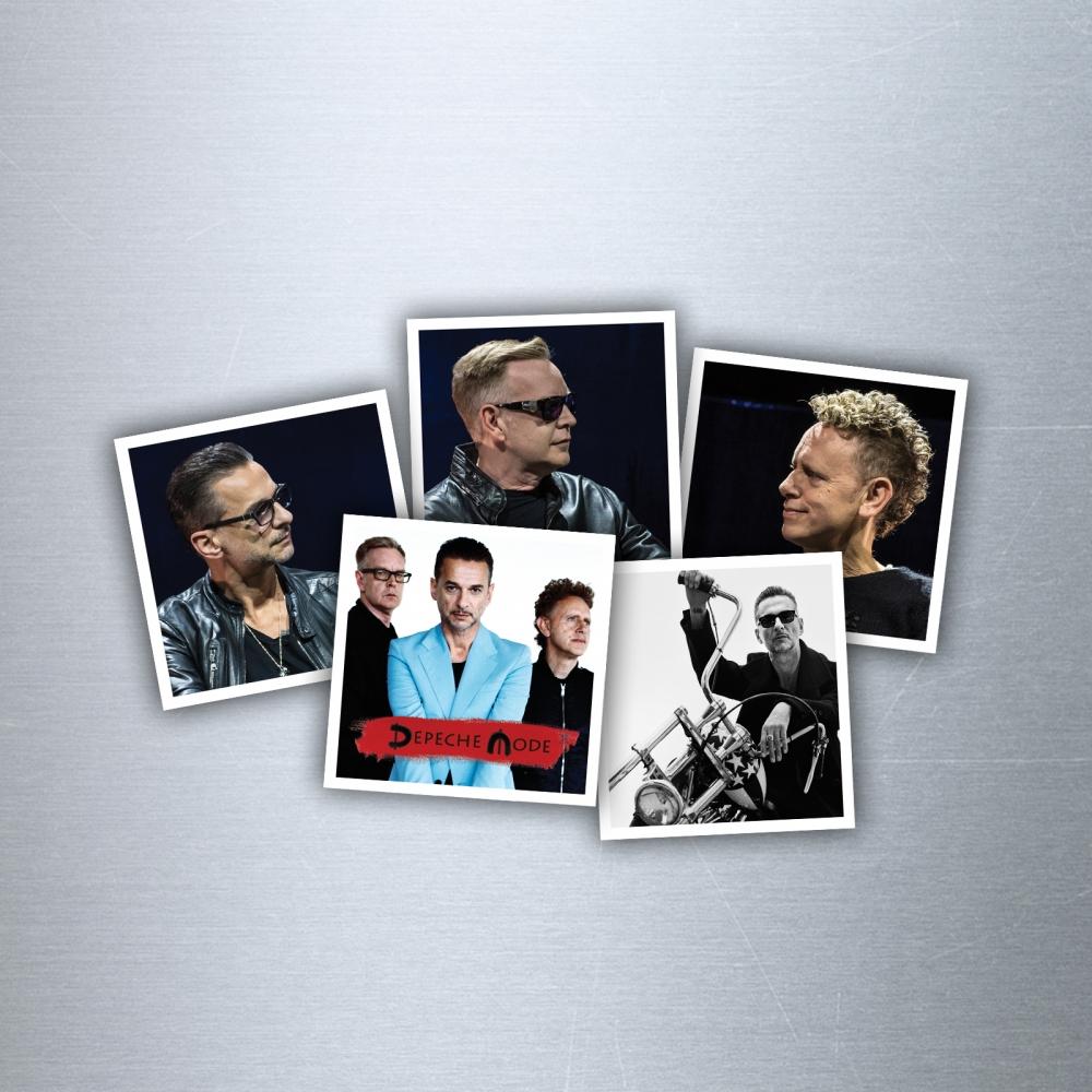 Sada 5 magnetiek Depeche Mode