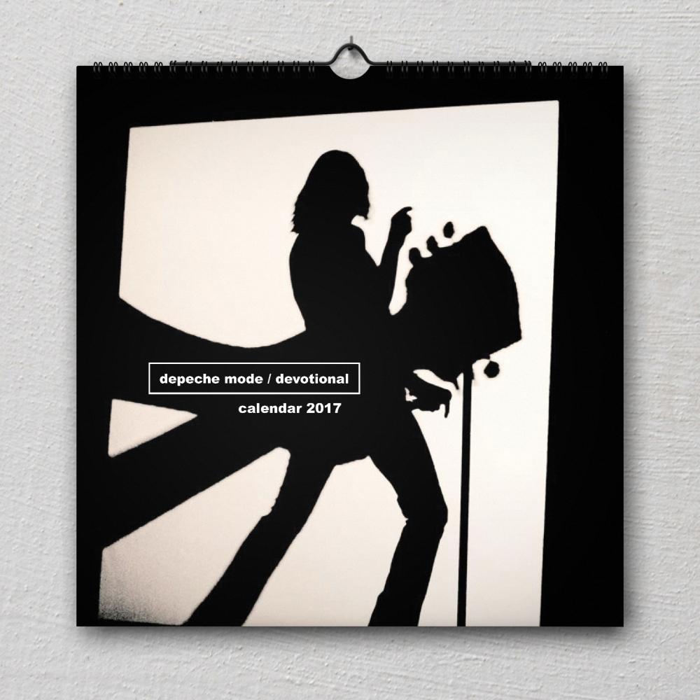 Nástenný kalendár Depeche Mode 2017