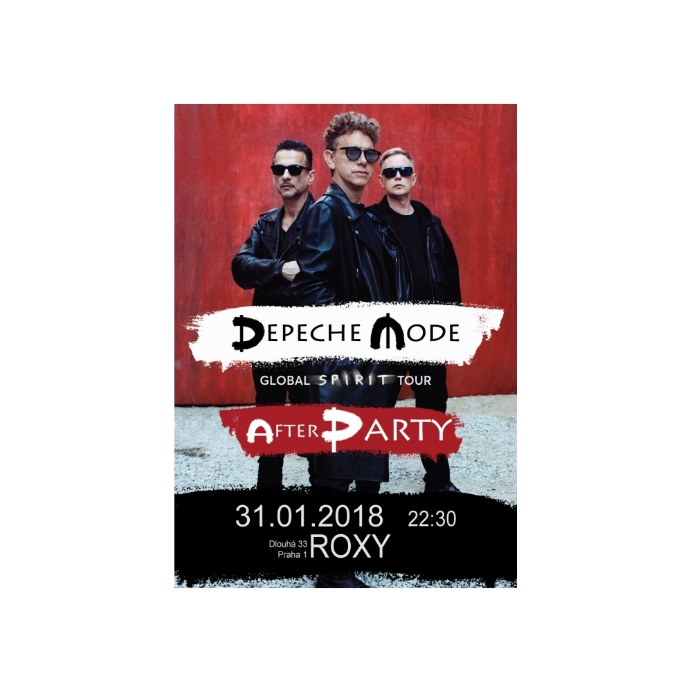 "Vstupenka ""Official After Party "" 31.01.2018 Praha"