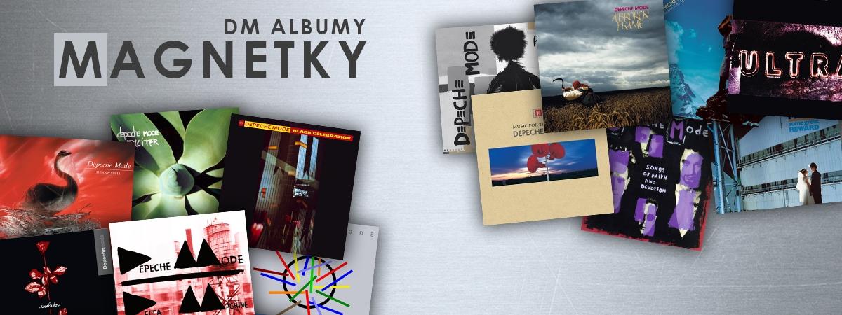 Magnetky - Albumy Depeche Mode