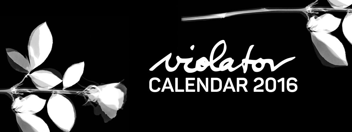 Nástenný kalendár Depeche Mode VIOLATOR - 2016 (A3)