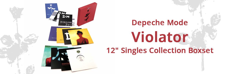 "Depeche Mode - Violator 12"" Singles Collection Boxset"