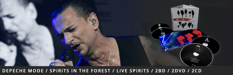 Depeche Mode / SPiRiTS iN THE FOREST / LiVE SPiRiTS - 2BD / 2DVD / 2CD